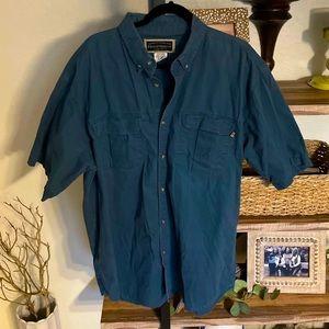 Vintage Field&Stream Short Sleeve Shirt XL